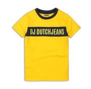 Dj dutch Dj Dutch geel t-shirt