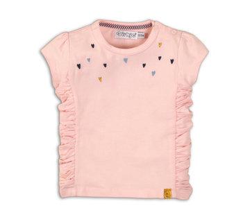 Dirkje Dirkje licht roze t-shirt