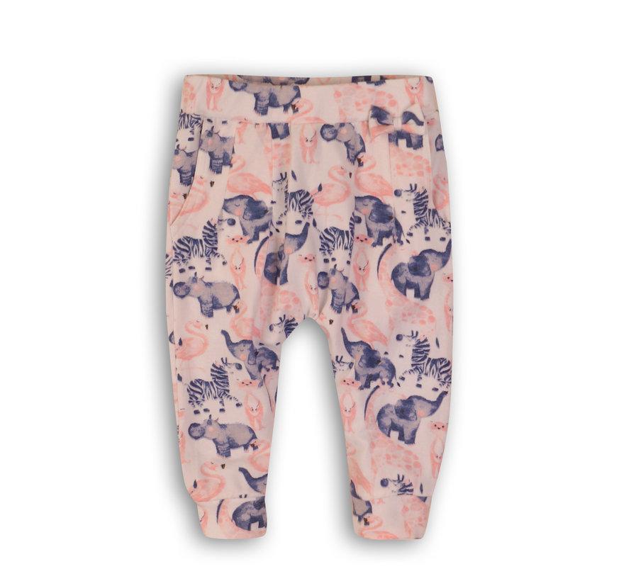 Dirkje licht roze dieren broek