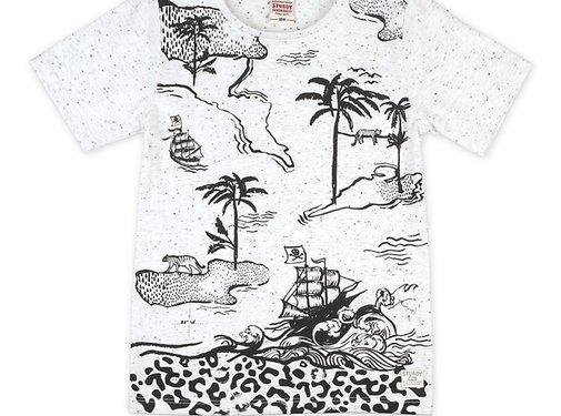 Sturdy Sturdy grijze t-shirt print