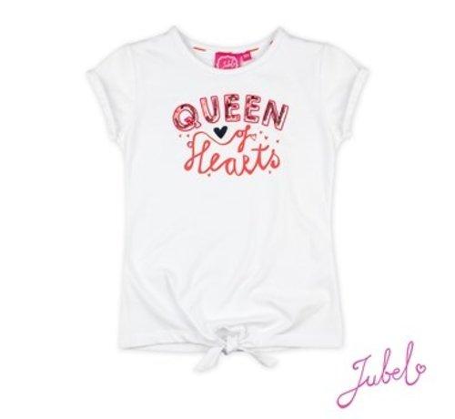 Jubel Jubel wit t-shirt funbird