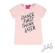 Jubel Jubel roze t-shirt dance first
