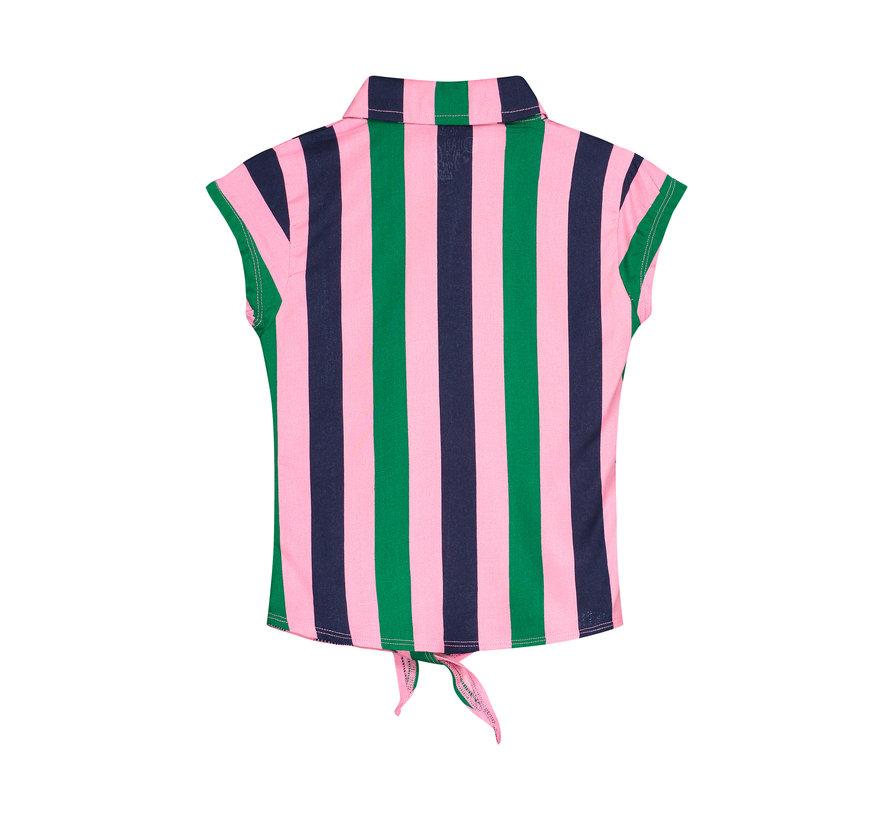 Quapi multie color streep topje