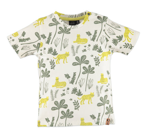 Babyface Babyface witte jungle t-shirt
