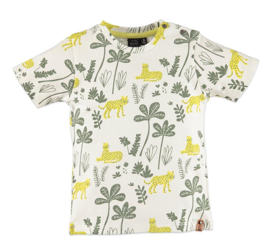 Babyface witte jungle t-shirt