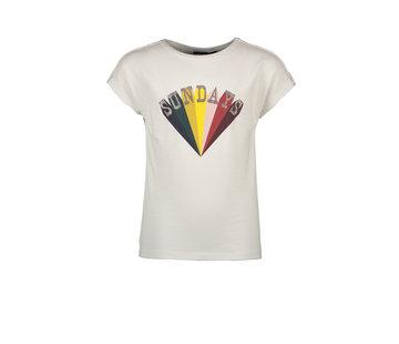 Like Flo Like flo wit t-shirt rainbow