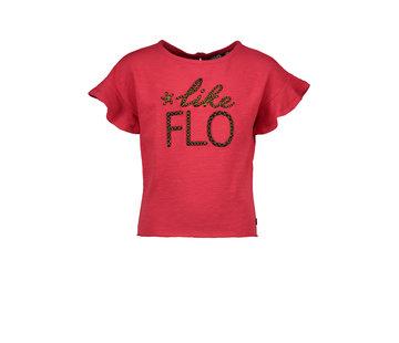 Like Flo Like flo rood t-shirt