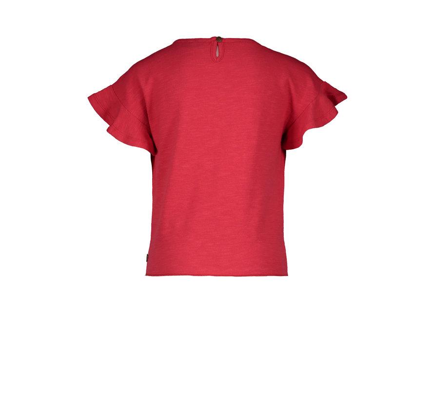 Like flo rood t-shirt