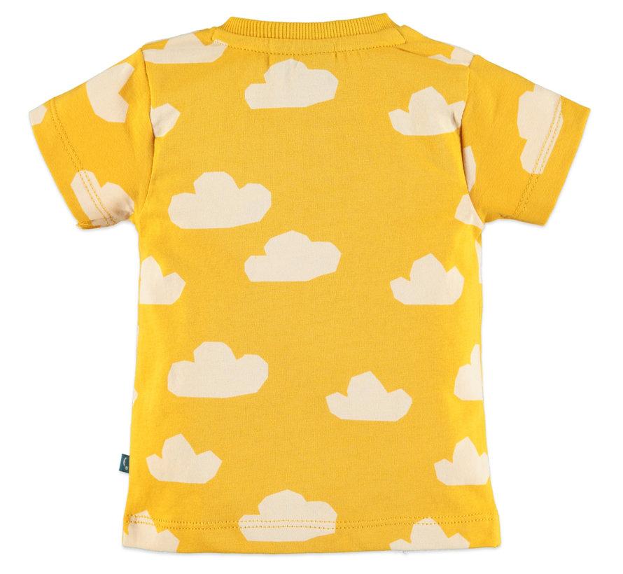 Babyface geel t-shirt