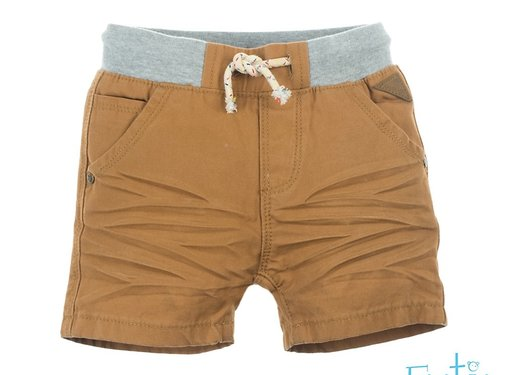 Babyface Feetje camel denim short