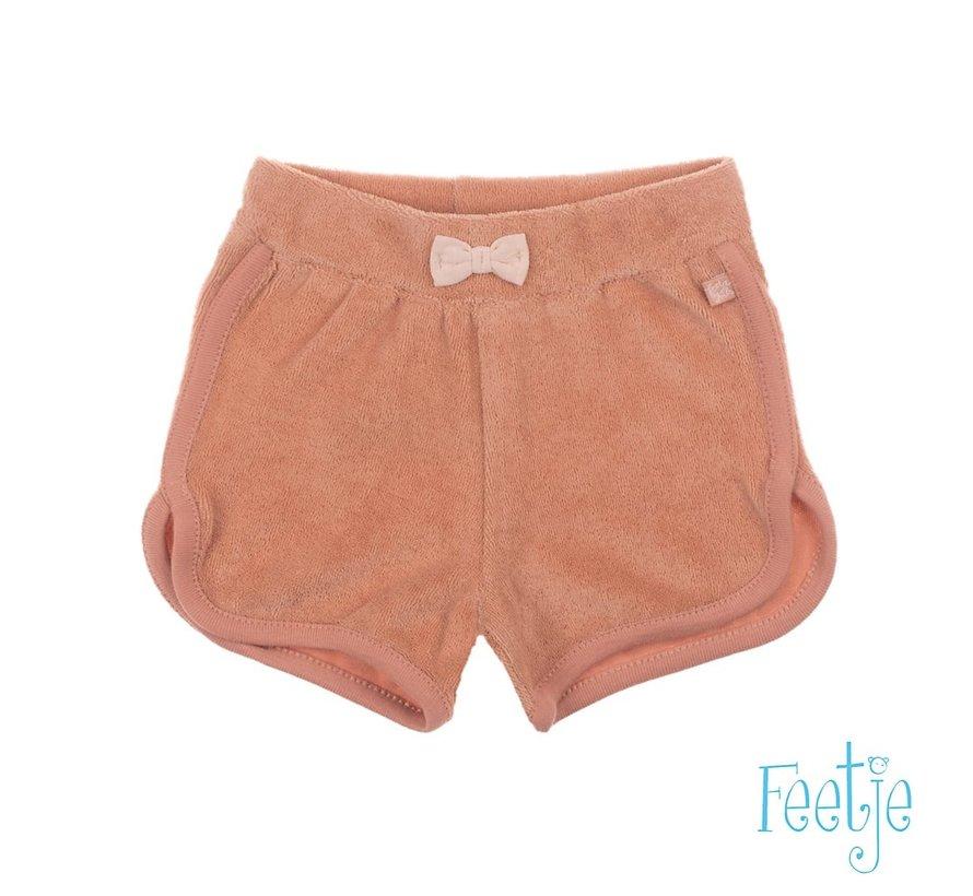 Feetje zacht roze sponsen short