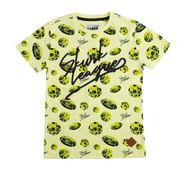 skurk Skurk neon geel t-shirt