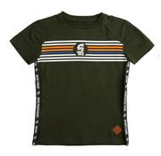 skurk Skurk donker groen t-shirt