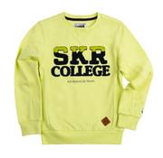 skurk Skurk gele neon sweater