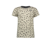 Like Flo Like flo ecru palmboom t-shirt
