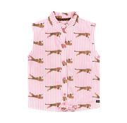 Quapi Quapi roze, wit hemd