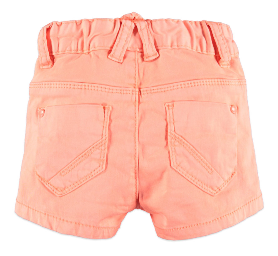 Babyface peach pink short