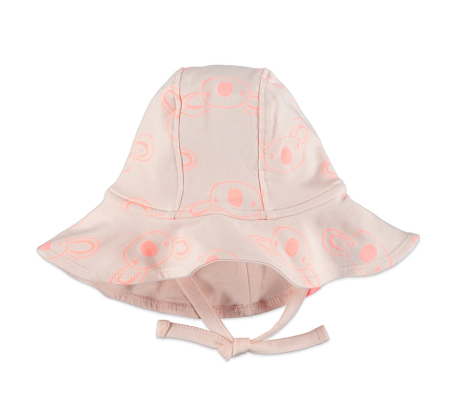 Babyface roze koala zonnehoed