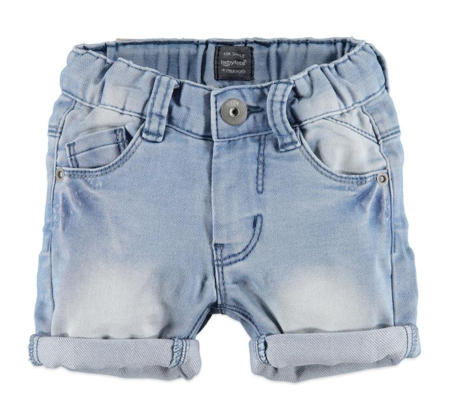 Babyface licht blauwe jeans short