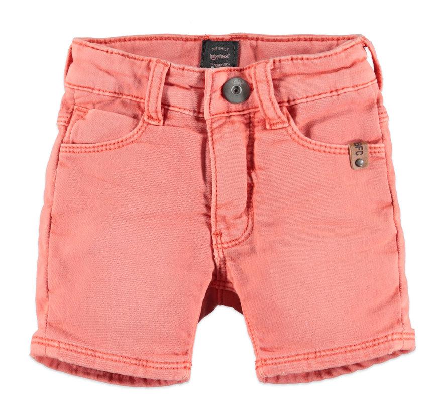 Babyface oranje jeans short