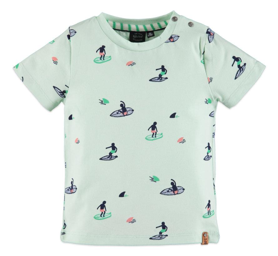 Babyface mint t-shirt