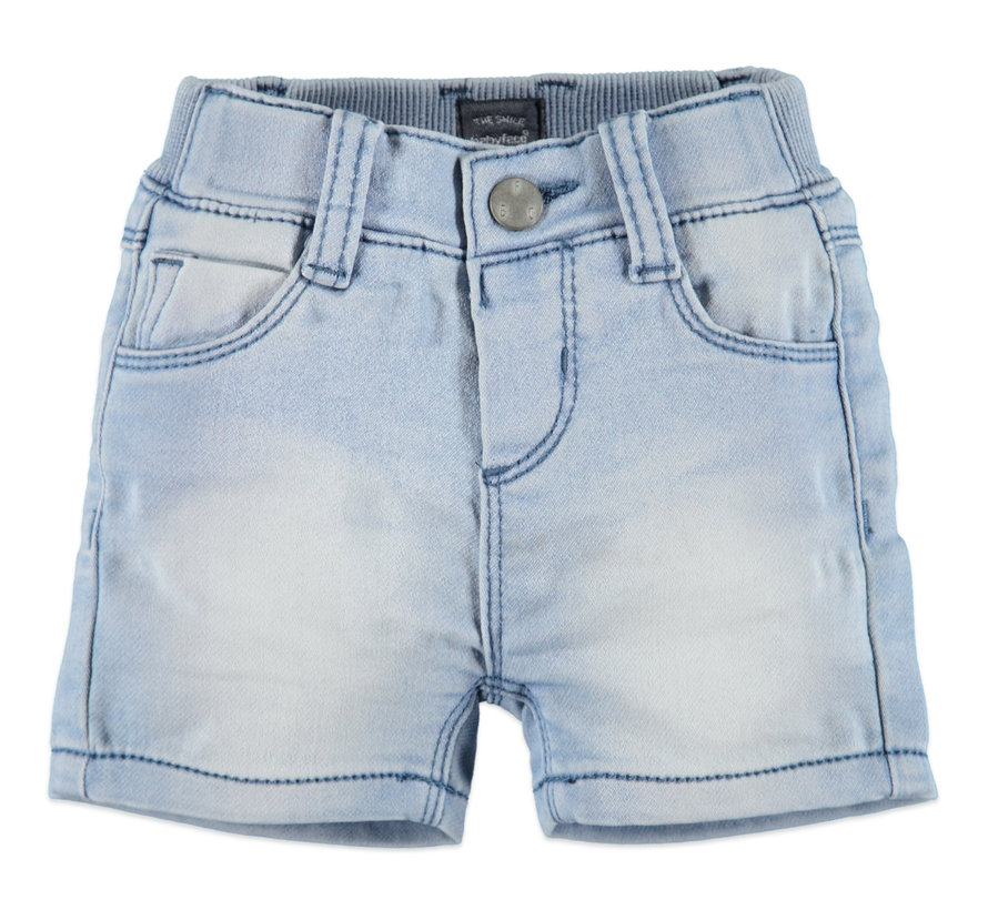 Babyface blauwe jeans short