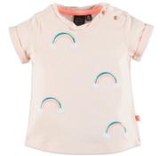 Babyface Babyface roze regenboog t-shirt