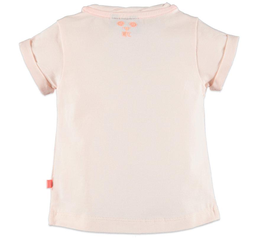 Babyface roze regenboog t-shirt