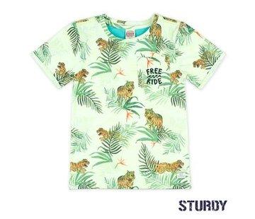 Sturdy Sturdy licht groen t-shirt