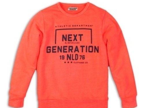 Dj dutch Dj Dutch oranje koraal sweater