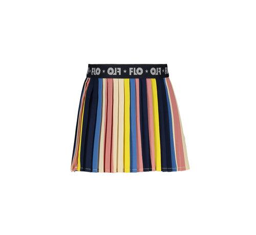Like Flo Like flo kleuren plise rok