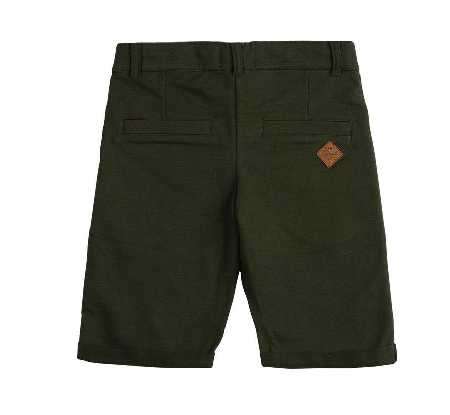Skurk groene chino short