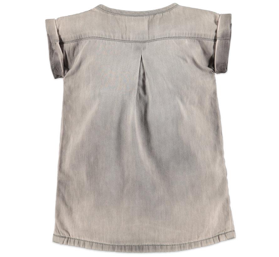 Babyface grijze jeans jurk