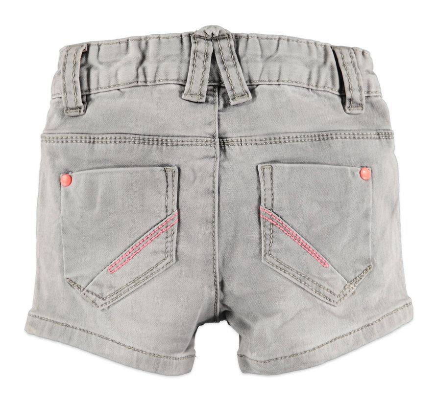 Babyface grijze jeans short