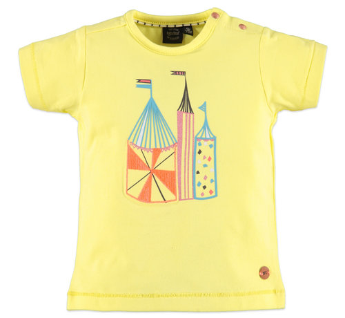 Babyface Babyface geel t-shirt circus