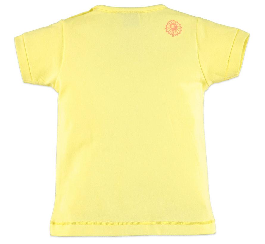 Babyface geel t-shirt circus