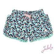 Jubel JUbel mint leopard short
