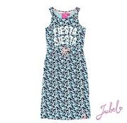 Jubel Jubel mint leopard zomer jurk