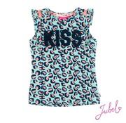Jubel Jubel mint leopard t-shirt
