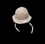 Barts Barts omkeerbare zomerhoed wit/gestreept