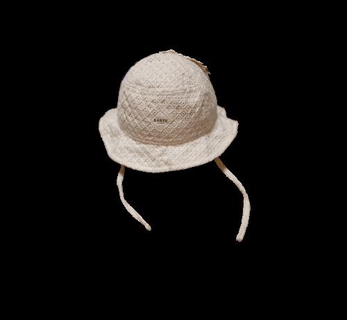 Barts Barts omkeerbare zomerhoed wit gestreept