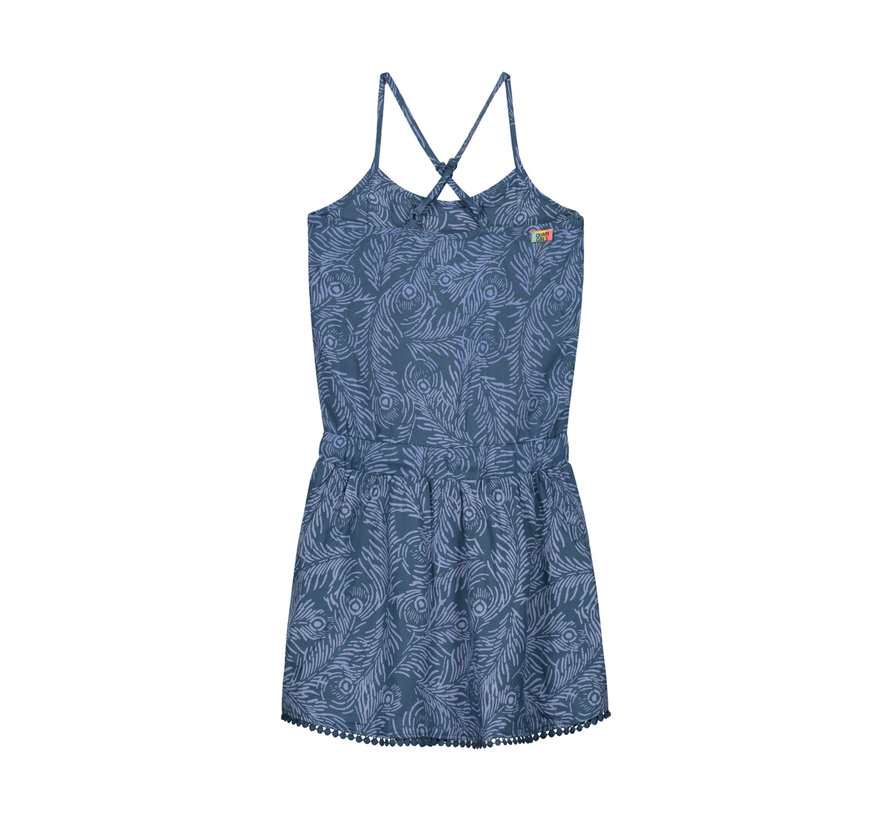 quapi blauw kleedje
