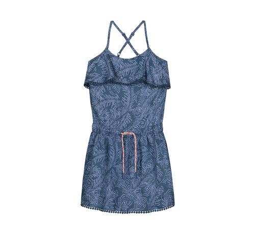Quapi quapi blauw kleedje