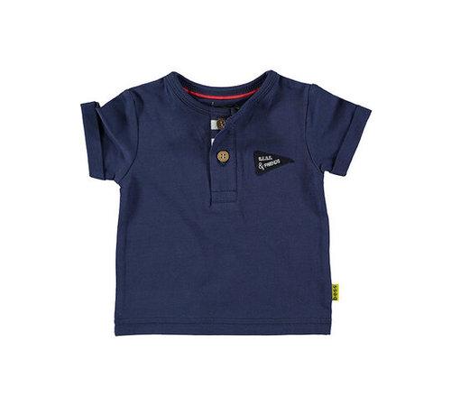 bess B.E.S.S blauw t-shirt