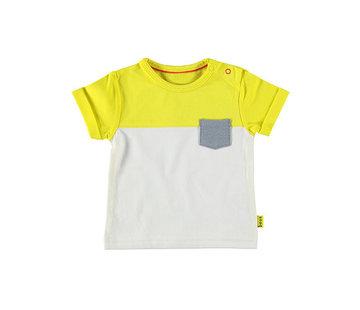 bess Bess wit geel t-shirt