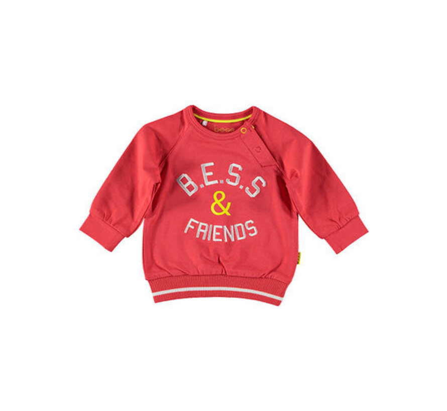 B.E.S.S rode sweater