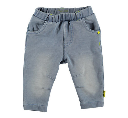 B.ES.S B.E.S.S blauwe jogdenim broek