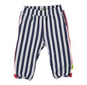 B.ES.S B.E.S.S wit blauw gestreepte broek