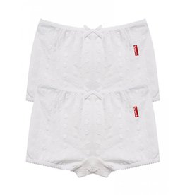 Claesen's Claesen's NOS girls Boxer embroidery 2-pack