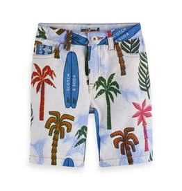 Scotch&Soda Shrunk shorts all over print